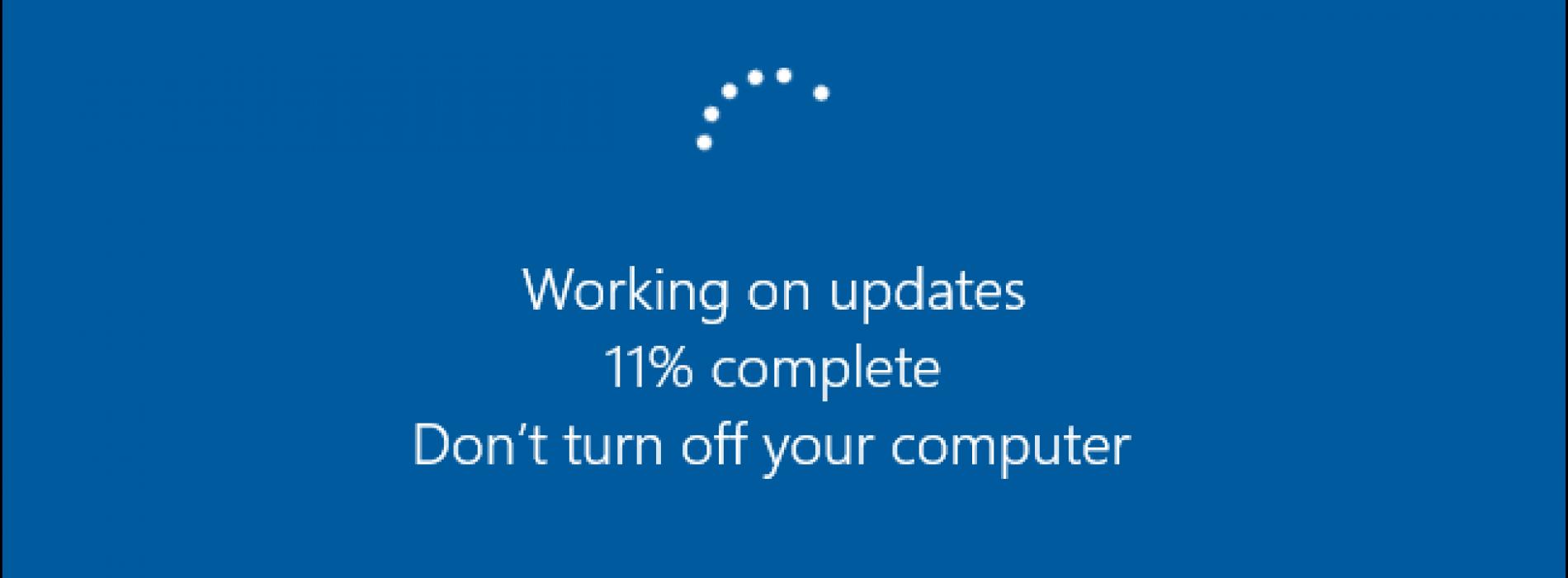 Windows 10 Otomatik Güncelleme Almayı Kapatmak